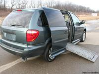 This is a 2007 Wheelchair Accessible Dodge Grand