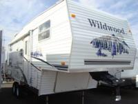 Take a look at this light weight bunk house 5th wheel