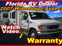 RV - Class C Class C 8318 PSN . 2007 Winnebago Aspect