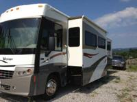 Have a nice 2007 Winnebago Voyage motor home 35ft. I am