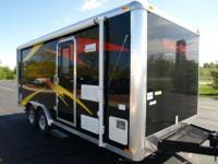 ..............Work and Play Travel Trailer Toyhauler,