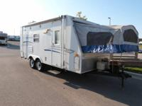 Used 2007 Starcraft XP 21CK Expandable   Rear Bath