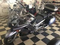 We are selling a 2007 Yamaha FJR, it has 33,215 miles.
