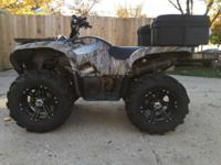 2007 Yamaha Grizzly 700 EPS very clean with 1000 miles!
