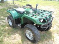 In wonderful condition - 2007 Yamaha Grizzly 350. We