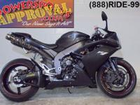 2007 Yamaha R1 Crotch Rocket for sale only $6,990!