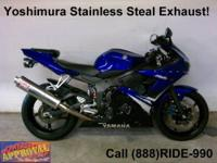 2007 Yamaha R6 Sport Bike - For sale with all the