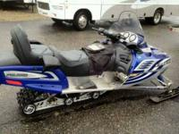 2007 Yamaha Rage GT Note. This is a package deal and