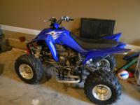 Yamaha 350, Blue with brand new tires. Recently