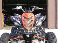 Yamaha Raptor 700 SE ? Fuel injected with reverse,