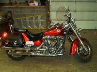 2007 Yamaha Road Star 1700 with 10200 miles. Bike is in