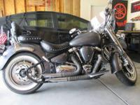2007 Yamaha Roadstar Midnight XV1700 in excellent