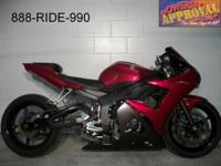 2007 Yamaha made use of R6 crotch rocket for sale just