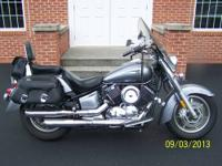This is a super nice 2007 Yamaha Vstar 1100 Classic