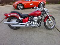 2007 Yamaha V-Star 650, ( ONLY 980 MILES !!! ) This is