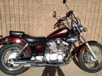 2007 Yamaha Virago 250 Awesome Bike With Low Miles!!!