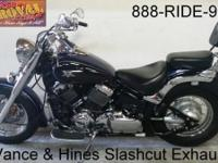 2007 Yamaha VStar 650 for sale in Indigo Blue with