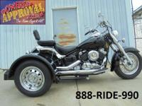 2007 Yamaha VStar 650 with a Voyager Trike Conversion