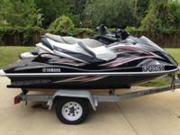 2007 Yamaha VX Cruiser Jet ski has 123.3 hours. It has