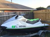 2007 Yamaha vx 1100 jet ski with 128 hours. The only