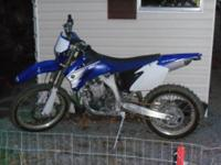 I have for sell a practically brand new motorcycle. I