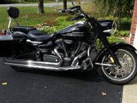 2007 Yamaha XV19MV Roadliner Midnight. 2007 Yamaha