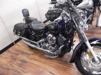 2007 YAMAHA XVS65A CLASSIC, IT ONLY HAS 2 MILES ON IT,