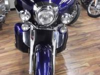 2007 YAMAHA XVZ13TF VENTURE, 18037 MILES, BLUE IN