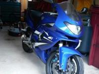 Nice 2007 Yamaha YZF600R! New Maintenance Free Battery,