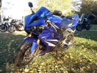 This is a spick-and-span Yamaha r1. It is a definitely
