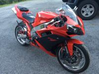 2007 Yamaha R1. It has 5800 miles and has absolutely no