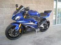 2007 Yamaha YZF-R6 Team Yamaha Blue! Loaded with all