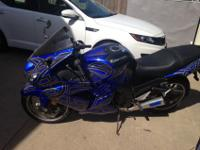 2007 ZX1400 with 23385 miles. Has not been ridden in