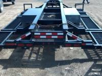 2007 B+B trailer. Used to haul high clearance sprayer.