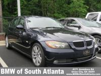 Monaco Blue Metallic 2007 BMW 3 Series 328i RWD 6-Speed