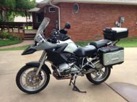 2007 BMW R1200GS Dual purpose bike with 8236 miles.
