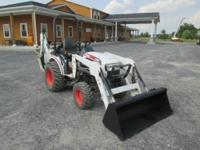 2007 Bobcat CT122B Farm Tractor Loader Backhoe!! Very
