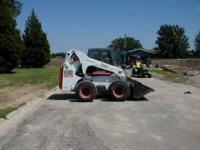 2007 BOBCAT SKIDSTEER - A300 - ONE OWNER ALL WHEEL