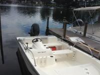 Low hours on 15ft Boston Whaler Super Sport. 2007