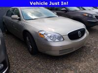 Gold 2007 Buick Lucerne CXL FWD 4-Speed Automatic