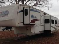 We are offering our 2007 Cardinal bunkhouse 5th wheel.