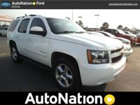 . The Chevrolet Tahoe is the benchmark all other SUVs