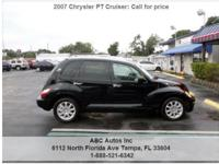 Chrysler PT Cruiser Touring 4dr Wagon Black 81841 I4
