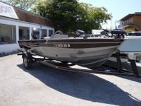 Powered With A 50hp Mercruiser 4-Stroke Outboard Motor,