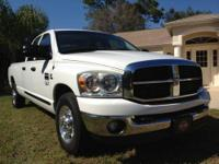 2007 dodge ram 2500 slt 4 door 6.7 turbo diesel with