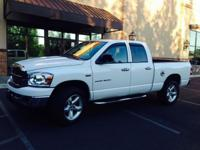 This 2007 Dodge Ram truck is in excellent cosmetic and