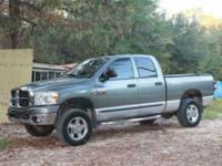 Excellent Condition Gun Metal Grey Turbo Diesel Dodge