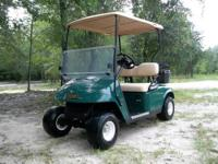 I am selling a GREEN 2007 EZ-GO TXT Gas golf cart. Golf