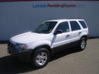 2007 Ford Escape 4dr 4x4 XLT Our Location is: Lithia