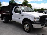 2007 Ford F-350 'XL' Dump Body Regular Cab 4X4!!